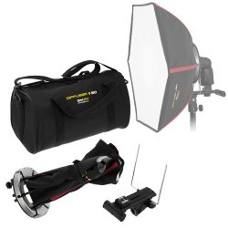 "SMDV Diffuser-50 -- Professional 20x20"" Rigid Softbox for Metz Flash"