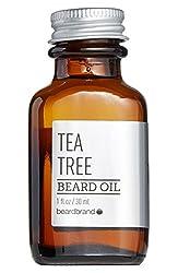 Beardbrand Tea Tree Beard Oil - 1 fl oz  Image