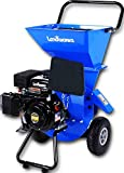 Landworks Super Heavy Duty 7HP 212cc Gas Powered Wood Chipper Shredder Chipping Max. of 3 INCH Capacity, 3 in 1 Capable Multi-Function, CARB Certified 3 Years Warranty