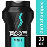 AXE HAIR 2 In 1 Shampoo And Conditioner, Apollo, 22 Ounce