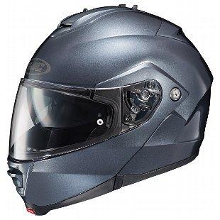 HJC IS-Max II Anthracite Modular Helmet with Hawk X2 Black Bluetooth Headset Bu - Small with X2 Bluetooth