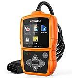 FOXWELL NT201 Auto OBD2 Scanner Check Car Engine Light Code Reader OBD II Diagnostic Scan Tool Emission Analyzer(New Version)
