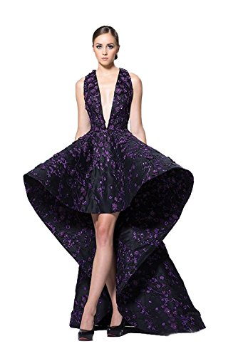 71jRDQbmLZL Material: floral lace appliques and satin Size: standard US size 2-18w Custom size and colors are also available. Just please email us if you need it.