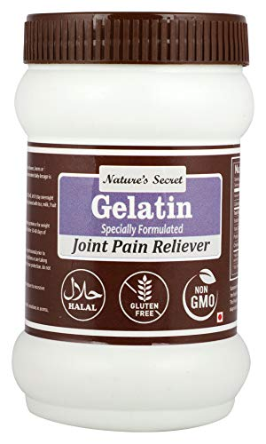 41GoU5E2TfL - Nature's Secret Gelatin Specially Formulated For Joint Pain Reliever -200Gm