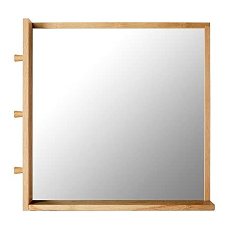 Ikea Ragrund Specchio In Bambù 53 X 50 Cm Amazonit
