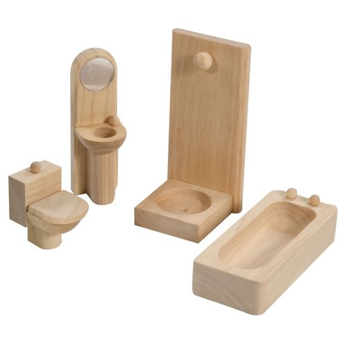 Plan Toy Doll House Bathroom - Classic Style