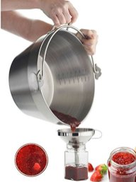 Jam-Making-Maslin-Pan-Stainless-Steel-Preserve-Pot-Handle-BucketCamping-Pan