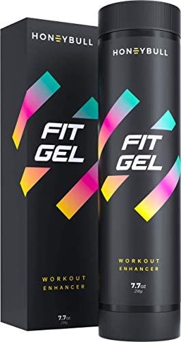 HoneyBull Fit Gel (7.7 oz) Workout Enhancer to Sweat More at Gym & Cardio 3