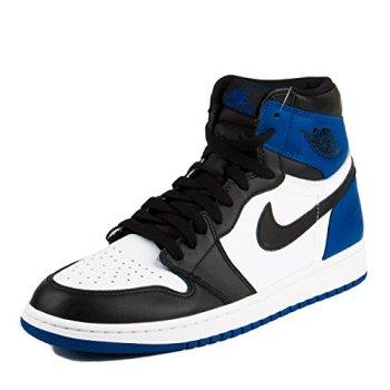 a0a7a557134 Nike Mens Air Jordan 1 X Fragment Black Sport Royal-White Leather Size