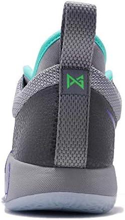 Nike Kids PG 2 (GS) Pure Platinum/Neo Turq Basketball Shoe 3