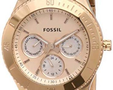 Fossil Analog Rose Women Watch ES2859