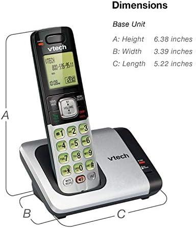 VTech CS6719-2 2-Handset Expandable Cordless Phone with Caller ID/Call Waiting, Handset Intercom & Backlit Display/Keypad 22