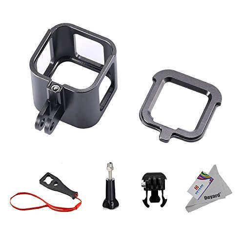 Deyard S-08 Aluminum Alloy Standard Protective Housing Frame Case for GoPro Hero 5 Session Hero 4 Session Camera