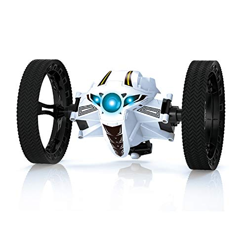 KINGBOT Jumping Car, Wireless Remote Control Stunt Car with 2.4Ghz and LED Headlights Double Sided Tumbling and Extreme High Speed Rotating