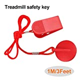Goodtechnical Treadmill Universal Magnet Safety Key for All NordicTrack, Proform, Image, Weslo Cadence, Reebok, Epic, Gold's Gym, Freemotion, and HealthRider Treadmills (Red)