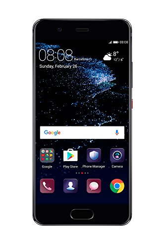 "Huawei P10 VTR-L29 64GB Graphite Black, 5.1"", Dual Sim, GSM Unlocked International Model, No Warranty"