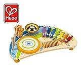 Award Winning Hape Mighty Mini Band Wooden Percussion Instrument