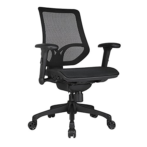 WORKPRO 1000 Series Mid-Back Mesh Task Chair Black