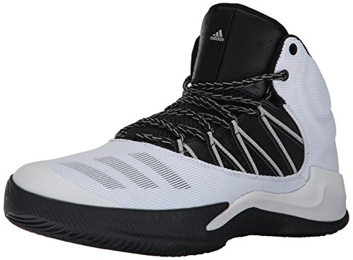 adidas Performance Men's Ball 365 Inspired Basketball Shoe, White/Black/Grey Two, 9 Medium US