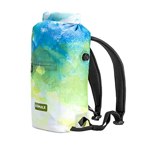 IceMule Jaunt Insulated Backpack Cooler Bag - Hands-Free, Highly-Portable, Collapsible, Waterproof & Soft-Sided Cooler Backpack for Hiking, The Beach, Picnics, Camping, Fishing- Go Series, Devoe