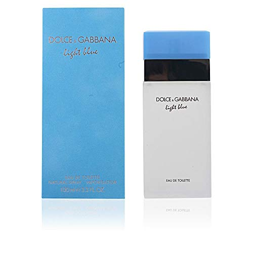 Dolce & Gabbana Light Blue By Dolce & Gabbana For Women. Eau De Toilette Spray 3.3 Fl. Oz (Packaging May Vary)