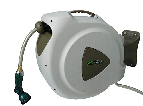 RL Flo-Master 65HR8 Retractable Hose Reel, 65 Feet Brown