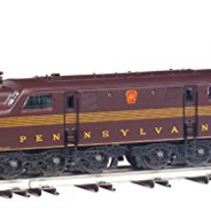 Williams by Bachmann GG-1 Electric – PRR #4909 – 5 Stripe Train (O Scale), Tuscan Red 41HW1oTYsZL