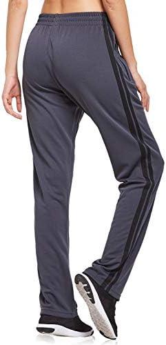 BALEAF Women's Track Pants Athletic Sports Sweat Pants Open Leg Jogger Sweatpants Zippered Pockets Lounge 3