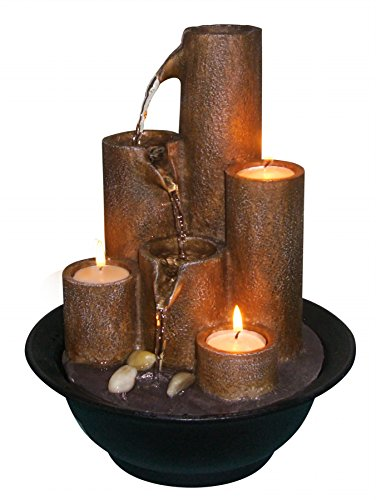 Alpine-WCT202-Tiered-Column-Tabletop-Fountain-with-3-Candles