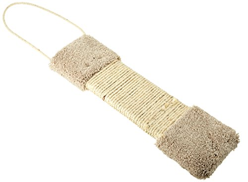 CLASSY KITTY Door Scratcher Hanging Carpet Post with Sisal (Colors may Vary)