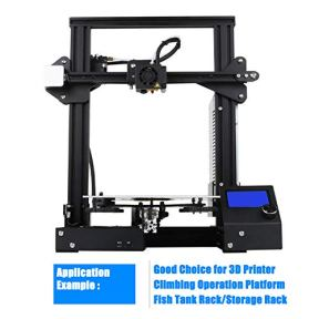 FEYRINX-4PCS-2020-T-Type-Aluminum-Profile-350mm-European-Standard-Linear-Rail-Anodized-Black-Extrusion-Frame-for-3D-Printer