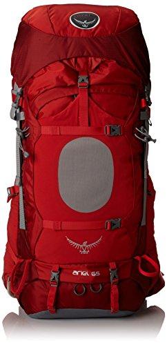Osprey Women's Ariel 65 Backpack, Vermillion Red, Large