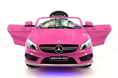Licensed Mercedes 12V Kids RideOn MP3 USB Player RC Parental Remote Toy
