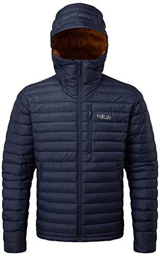RAB Microlight Alpine Jacket - Men's Deep Ink/Footprint Large