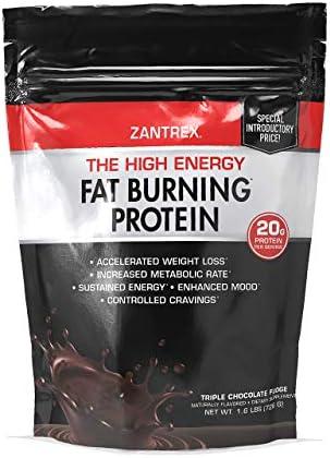 Zantrex High Energy Fat Burning Protein Tasty Shake™, Triple Chocolate Fudge, 22 Ounces 1