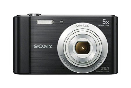 Sony-DSCW800B-201-MP-Digital-Camera-Black