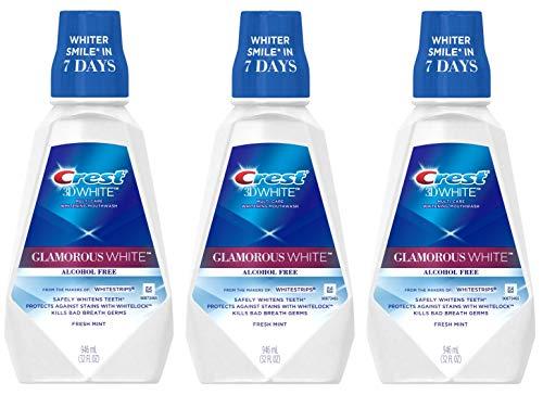 Crest 3D White Luxe Glamorous White Multi-Care Whitening Fresh Mint Flavor Mouthwash