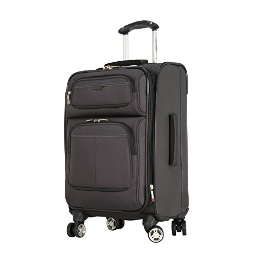 Ricardo Beverly Hills Mar Vista 20-Inch 4 Wheel Expandable Wheelaboard, Graphite, One Size