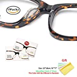 Clear Eyeglass Nose Pads - SMARTTOP Stick on 2.5mm Silicone Anti Slip Adhesive Eyewear Nose Pads Cushions for Eyeglasses Sunglasses Spectacles with Microfiber Cleaning Cloth - 10 Pairs