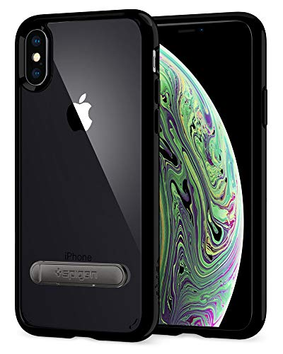 Spigen Ultra Hybrid S Designed for Apple iPhone Xs Case (2018) / Designed for Apple iPhone X Case (2017) - Jet Black
