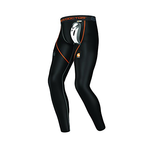 Shock Doctor Men's Core Hockey Pant with Bio-Flex Cup, X-Small