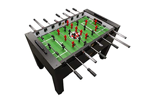 Warrior Professional Foosball Table - Classic Soccer Design, Easy to Build, Safest Table for Kids...