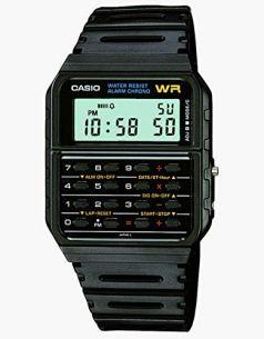 Casio Men's Vintage CA53W-1 Calculator Watch