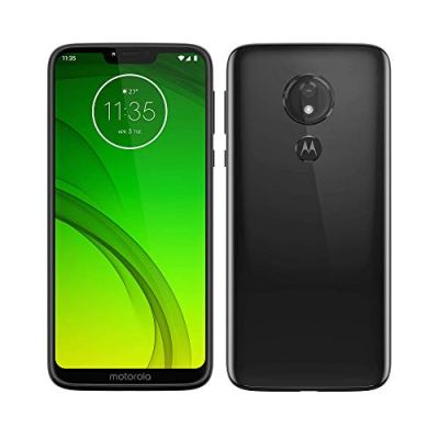 "Motorola Moto G7 Power, Smartphone Android 9.0, Display 6,2"", Camera da 12Mp, 4/64 GB, Dual Sim, Ceramic Black [versione Italia]"
