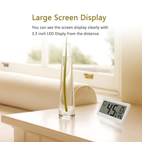 Digital-Thermometer-Hygrometer-Temperature-and-Humidity-Display-with-33-inch-LCD-for-Household-Office-Gym-Kitchen-etc-MIKIZ