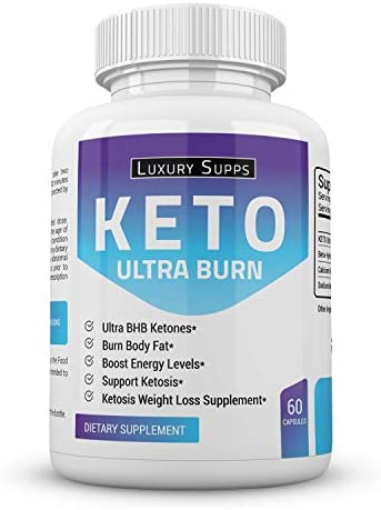Keto BHB Ultra Burn - Advanced Weight Loss for Ketogenic Diet - Weight Loss Pills - 30 Day Supply - 60 Capsules 1