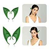 Jeicy Cosplay Fairy Pixie Elf Ears Anime Halloween Elven Ears Goblin Party Dress Up Costumes Accessories 2 Pair (Style 3)