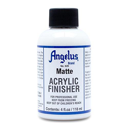 Angelus Brand Acrylic Leather Paint Matte Finisher No. 620 - 4oz
