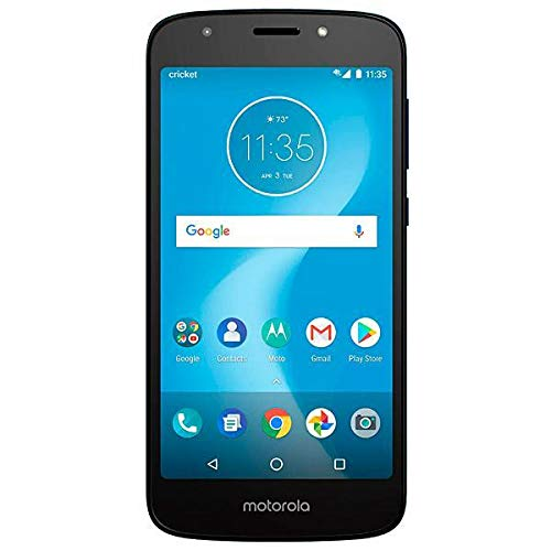 Boost Mobile Moto E5 Prepaid Phone, Play 5.2' HD Display 16GB ROM/2GB RAM 1.4 GHz Quad-Core, Carrier Locked to Boost Mobile