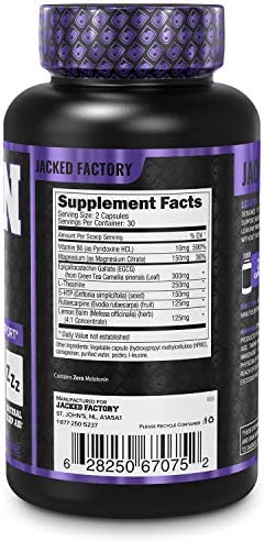 Lean PM Melatonin Free Fat Burner & Sleep Aid - Night Time Sleep Support, Weight Loss Supplement & Appetite Suppressant for Men and Women - 60 Caffeine Free, Keto Friendly Diet Pills 5